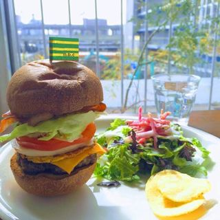 ハンバーガーSET(n.b.cafe (エヌビーカフェ))