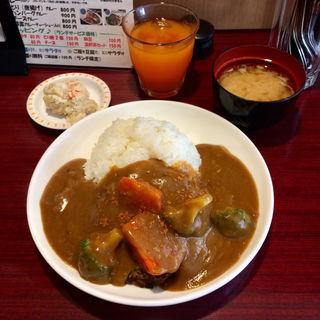 カレー ハンバーグカレー(ど丼がぁドン )
