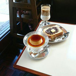 カスタードプリン(喫茶ゾウ)