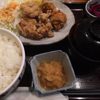 唐揚げ定食(品川23号そば店 (【旧店名】常盤軒))