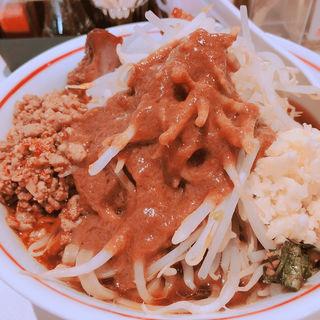 麺 小 野菜 にんにくトッピング