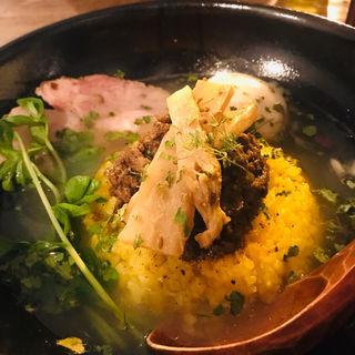 合鴨マサラスープカレー(お出汁とスパイス 元祖 エレクトロニカレー)