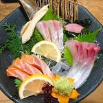 海鮮お造り盛り合わせ(3種)