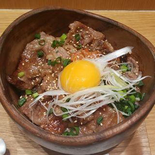 和牛カルビ丼(こめらく )