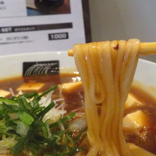 麻婆京豆腐うどん(UDON MAIN)