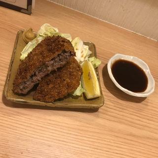 牛タンコロッケ(牛タン居酒屋たんたん)
