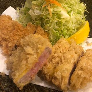 特ヒレかつ定食(とん太 (とんた))