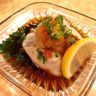 生牡蠣 ポン酢(いっちょん )