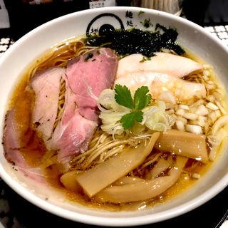 鶏煮干しそば(大盛+¥100)(麺処 蛇の目屋 )