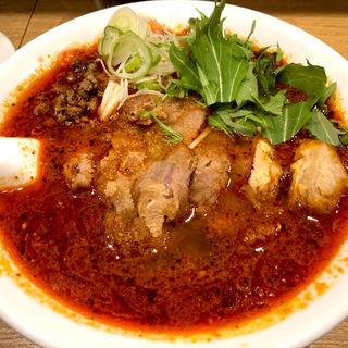 排骨坦々麺(大盛+¥130)(麺食堂 一柳)