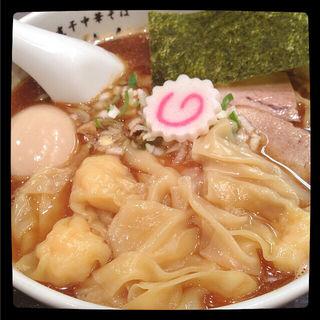 ワンタン麺(江戸前煮干中華そば きみはん 五反田店 )