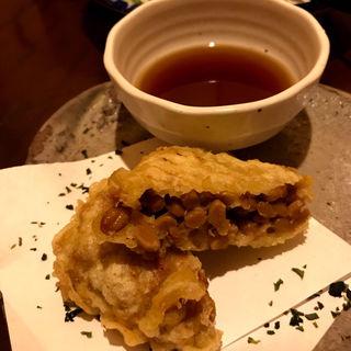 納豆の天ぷら(あつもの屋 )