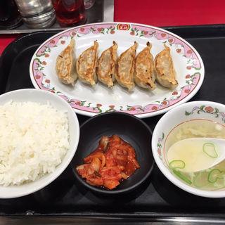 餃子ランチ(餃子6個)(餃子の王将 狸小路5丁目店)