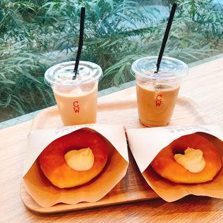 (HIGUMA Doughnuts × Coffee Wrights )