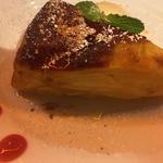 ほんのり温かいリンゴケーキ(農家の野菜×創作料理 101 (ワンオーワン))