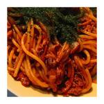 魔法の焼きそばスパゲッティ