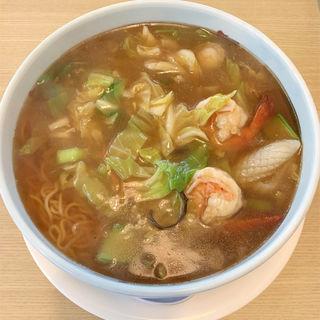 海鮮五目あんかけ麺(中華のわこう )