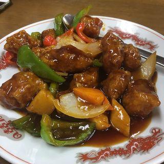 黒酢酢豚(盛華 御器所店 )