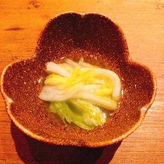 水キムチ(焼肉うしごろ 西麻布本店 )