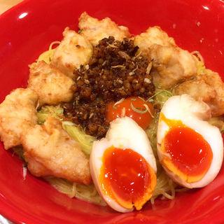 どろり細麺(¥790)スペシャルトッピング(¥500)