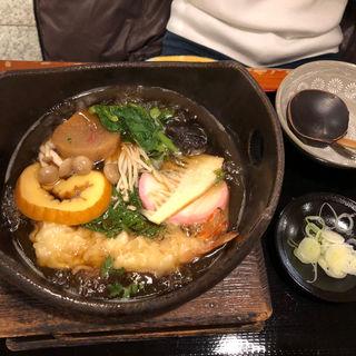 鍋焼きうどん(おそば田なか)