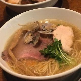 旨味正油らーめん 肉ソバ(フスマにかけろ 中崎壱丁 (麩))