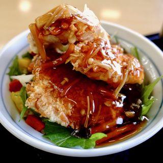 鶏のザクザクあんかけ丼(近鉄レストラン )