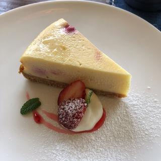 苺のチーズケーキ(カフェ トワ (cafe towa))
