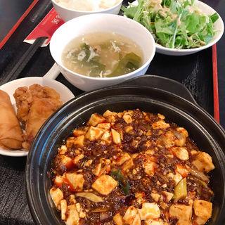 麻婆豆腐定食(四川菜 恒徳居)