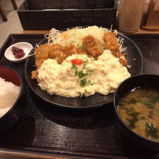 チキン南蛮定食(うめっちゃが食堂 福岡パルコ店 )