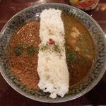 2種の合いがけ薬膳カレー(DiningBar Hidden Lounge 麻布十番 (ダイニングバー ヒドゥンラウンジ))