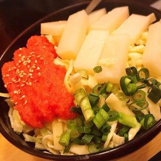 明太もちチーズ(渋谷ますだ亭 )