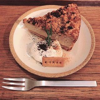 クランベリーとカプチーノのチーズケーキ(cafe SOROR)