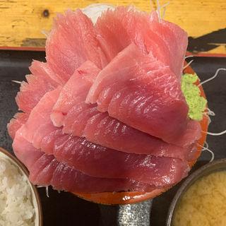 生マグロ中トロ定食(タカマル鮮魚店 2号館 )