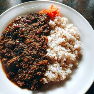 茄子と挽肉のカレー(ラスティック・バーン (RUSTICK BARN))