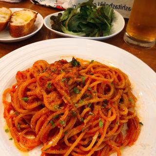 プッタネスカ ロッソ(イタリア料理アクアリオ)