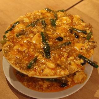 行者にんにく麻婆豆腐(中国料理 もみぢ)