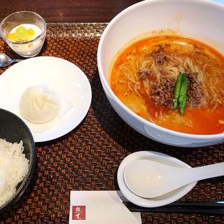 麺ランチ坦麺