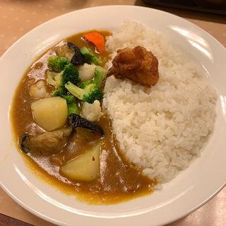 イブニングカレー大盛(カレーショップC&C 西新宿オークシティ店 (カレーショップシーアンドシー))