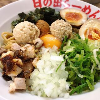 DXラーメン(混ぜそば)(日の出らーめん 横浜桜木町本店 (ヒノデラーメン))