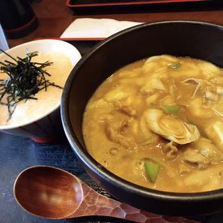 チーズカレーうどん(富貴堂 (ふうきどう))
