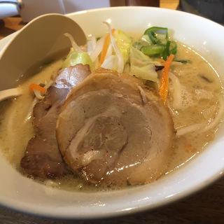 白丸元味+タンメン野菜(一風堂 札幌狸小路店)