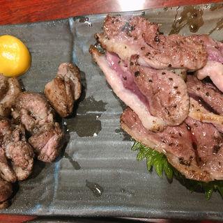 鴨肉炙り(しゃも三郎 (闘鶏 三郎 しゃもさぶろう))