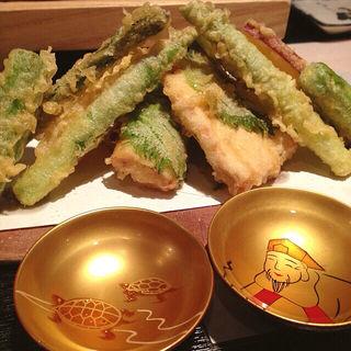 野菜天ぷら(やき鳥歩ム (【旧店名】一會))