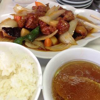 酢豚定食(兆楽 道玄坂店 )