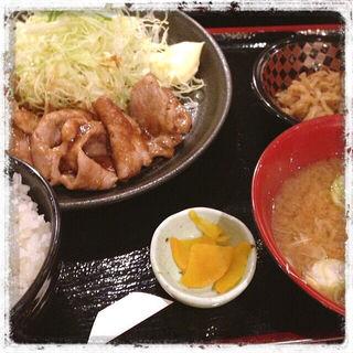豚の生姜焼き(奈加野 )