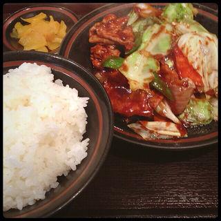 ホイコーロー定食(舞香)