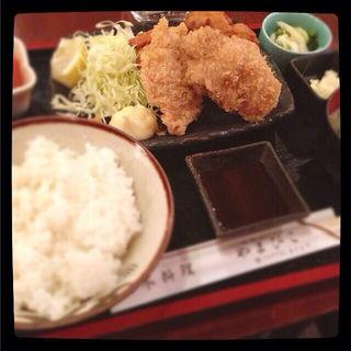 ヒレかつ&唐揚げ定食(代官山 やまびこ )