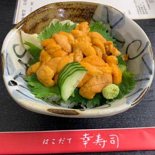 ウニ丼(幸寿司)