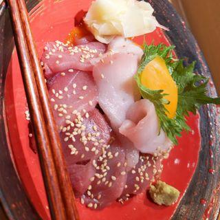 鮪の二色丼(鮨りんか)